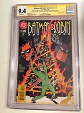 CGC 9.4 SS Batman and Robin Adventures #3 signed Conroy Lester Glover Timm +2