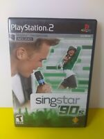 Singstar 90's (Sony PlayStation 2 - PS-2) - (Microphones are Not Included)