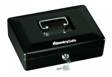 SentrySafe CB10 Small Cash Box, Black, Safebox Privacy Security Protection, New