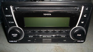 Landcruiser radio