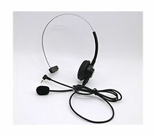 Over-The-Head Band 2.5mm Microphone Panasonic Office Home Cordless Phone System