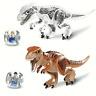 Building Blocks T-Rex Jurassic World Dinosaurs Bricks Figure Gift Toys Kids New