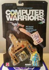 COMPUTER WARRIORS ROMM 1989 MATTEL NEW SEALED EXCELLENT #2