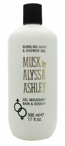 ALYSSA ASHLEY MUSK BATH AND SHOWER GEL - WOMEN'S FOR HER. NEW. FREE SHIPPING