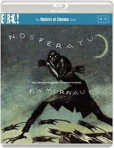 Nosferatu The Masters of Cinema Series (Max Schreck FW Murnau) Region B Blu-ray