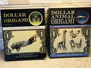 Dollar Origami Book And Dollar Animal Origami Book By Won Park