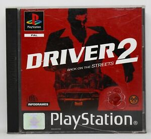 DRIVER 2 BACK ON THE STREETS - PLAYSTATION PSX PS1 PLAY STATION 1 - PAL ESPAÑA