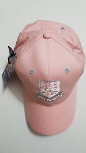 Ladies PINK West Ham United Baseball Cap Hammers Hat NEW Girls Womens Football