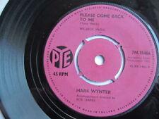 Mark Wynter -  Venus in blue jeans  / please come back to me  7'' vinyl 7N 15466