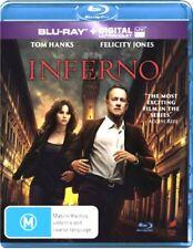 INFERNO New Blu-Ray + UV TOM HANKS ***