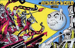 Avenging World, Steve Ditko, 165 pages, 2021 publication
