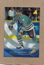 craig janney san jose sharks 1995/96 37 rink collection card