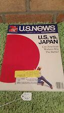 U.S. NEWS AND WORLD REPORT ~ September  2, 1985. U.S. vs JAPAN