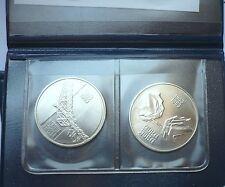 YUGOSLAVIA 10+ 10 DINARA 1983 - NERETVA- SUTJESKA- UNCIRCULATED SET