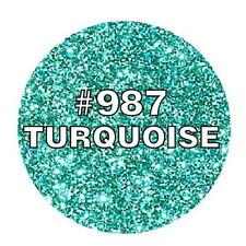 Natural Color Turquoise Edible Glitter 2g Cake toppers cupcake decorations