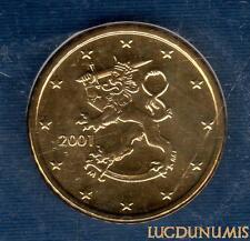 Finlande  2001 50 Centimes Euro BU FDC provenant coffret 75000 exemplaires