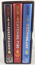 The Hunger Games Trilogy Box Set Hardcover Books Suzanne Collins YA Dystopia NIB