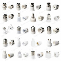 B22 GU10 E27 E14 MR16 Light Lamp Socket Adapter Extender Holder Base Converter N