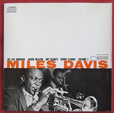 MILES DAVIS   CD VOLUME 1 BLUE NOTE
