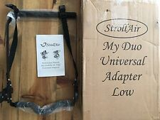 StrollAir My Duo Universal Car Seat Adapter Low for  Stroll Air Stroller