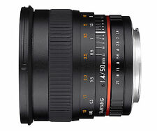 Samyang 50mm F1.4 as UMC Lens for Canon EF FOWA 5 Years