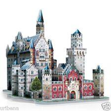 Neuschwanstein Castle 3D Jigsaw Puzzle 890-Piece W3D-2005 Architecture Model NEW