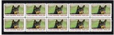 Lancashire Heeler Strip Of 10 Year Of The Dog Vignette Stamps 1