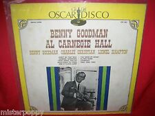 BENNY GOODMAN Al Carnegie Hall JAZZ LP 1970s ITALY MINT- Lionel Hampton