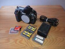 Nikon D200 10.2MP Digitalkamera - Schwarz (Nur Gehäuse)