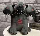 Внешний вид - Ebros Greek Mythology Hades Underworld Cerberus Hydra Dogs Luxe Soft Plush Toy