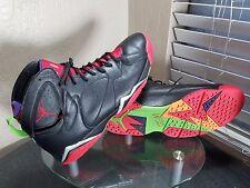 Nike Air Jordan 7 VII Marvin the Martian Mens Size 15 Black / Red / Green