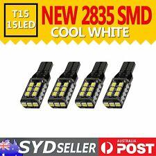 LED Lights 2835 SMD T10 T15 Car Dome Cargo Courtesy Turn Signal Corner Light x 4