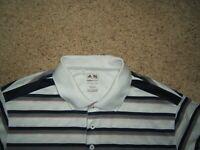 Men's ADIDAS Golf CLIMACOOL Athletic polo Shirt S/Sleeve sz L NEW
