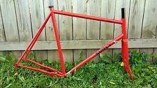 Surly Pacer frameset frame and fork 60cm Disco Tomato red
