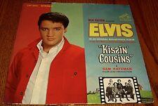 ELVIS PRESLEY ~ KISSIN COUSINS ~ ORIGINAL ORANGE LABEL LP