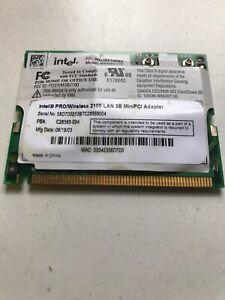 5x INTEL PRO/WIRELESS 2100 LAN 3B MINI PCI WIFI LAPTOP NETWORK CARD