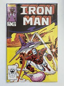 IRON MAN #201 (1ST SERIES) MARVEL COMICS