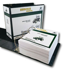 Service Manual For John Deere 4050 4250 4450 Tractor Technical Repair Shop Book