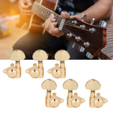 Electric Guitar Tuning Pegs Machine Tuners Machine Head Gold Plated 3R3L Set