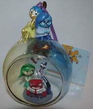 Disney Store de dentro a fuera árbol de Navidad Adorno Decoración IRA Joy repugnancia miedo