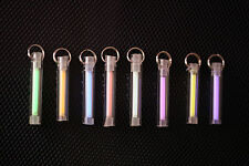Tritium Keychain Handmade 25mm x 3.5mm 15 Years Continuous Glow