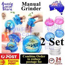 2 x Kitchen Hand Tool Garlic Ginger Press Presser Crusher Masher Grinder Twist