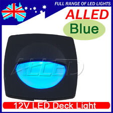 12V Waterproof Blue Color LED Square Courtesy Light RV/Car/Stair/Trailer Lamp