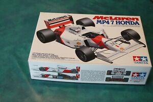 McLaren MP4/7 Honda F1 1192 Senna maquette 1:20 Tamiya
