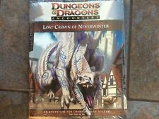 Dungeons & Dragons Encounters:  LOST CROWN of NEVERWINTER module, new in shrink!