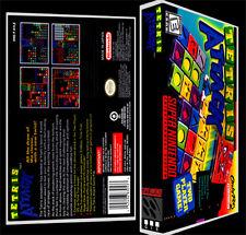 Tetris Attack  - SNES Reproduction Art Case/Box No Game.