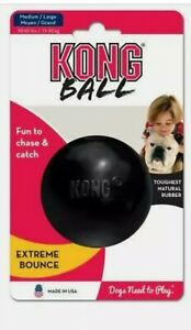 KONG EXTREME DOG Toy ball, Durable Rubber, throw catch dog ball.