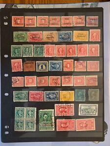 U.S. BOB Revenue Stamps Lot Proprietary, Documentary, & Stock Transfer
