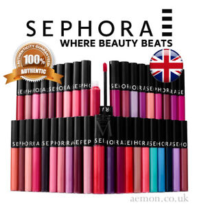 Sephora Collection Cream lip stain last long gloss ORIGINAL 70 colours ORIGINAL!