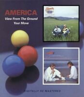 AMERICA - VIEW FROM THE GROUND/YOUR MOVE 2 CD NEW!